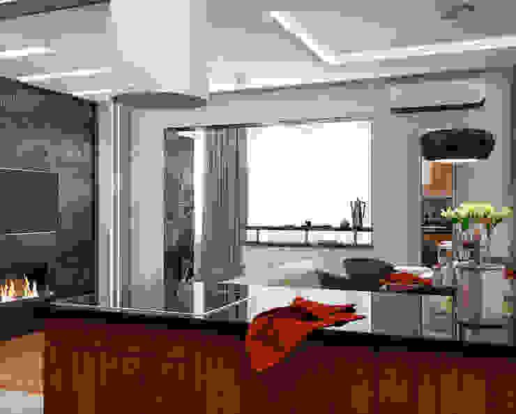 ミニマルデザインの キッチン の Мария Трифанова ミニマル