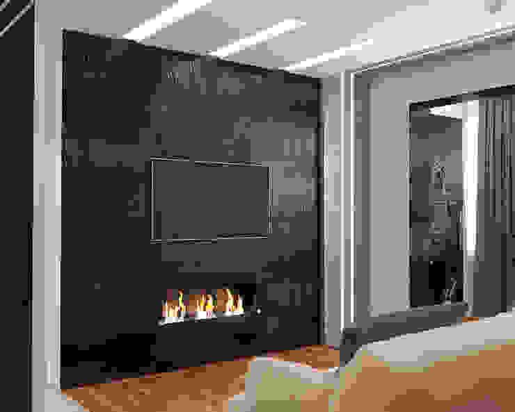 Salas de estilo minimalista de Мария Трифанова Minimalista