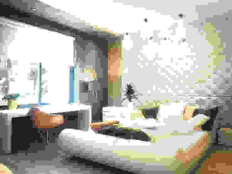 ЭНЕРГОЭФФЕКТИВНЫЙ ДОМ ГР-2 Детская комнатa в стиле минимализм от Grynevich Architects Минимализм