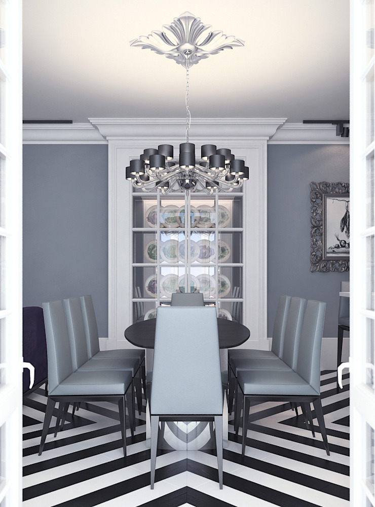 Classic style dining room by FEDOROVICH Interior Classic