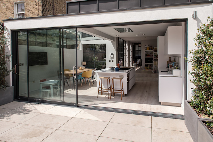 Photography for Red Squirrel Architects—House extension, South London Modern houses by Adelina Iliev Photography Modern