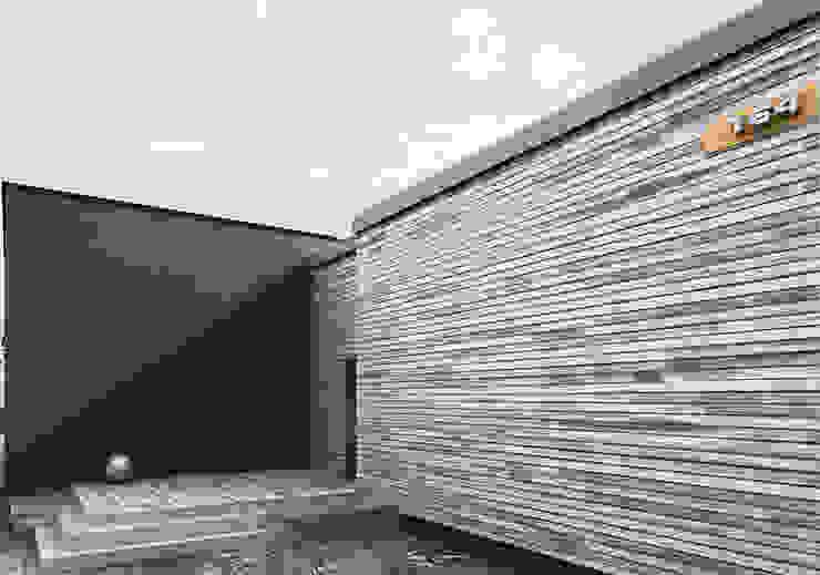 ЭНЕРГОЭФФЕКТИВНЫЙ ДОМ ГР-2 Дома в стиле минимализм от Grynevich Architects Минимализм