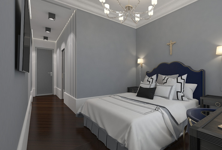 Classic style bedroom by FEDOROVICH Interior Classic