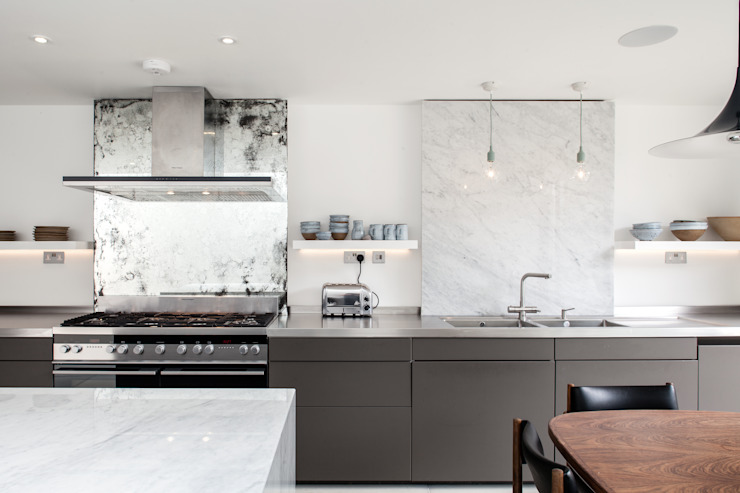 Photography for Trevor Brown Architect - House in North London Modern kitchen by Adelina Iliev Photography Modern
