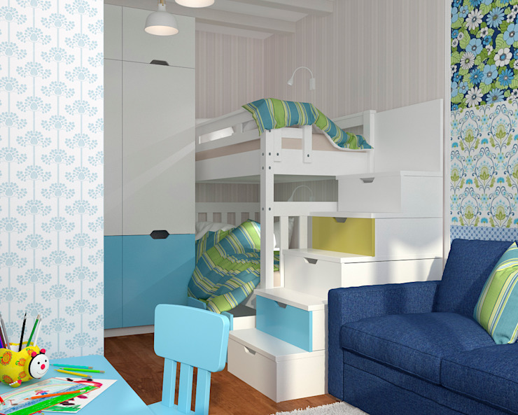 Мария Трифанова Nursery/kid's room