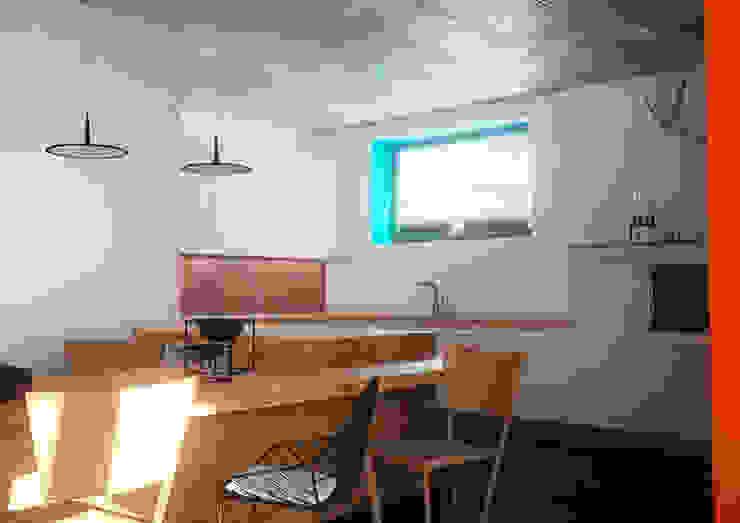 Minimal Apartment BR Кухня в стиле минимализм от Grynevich Architects Минимализм