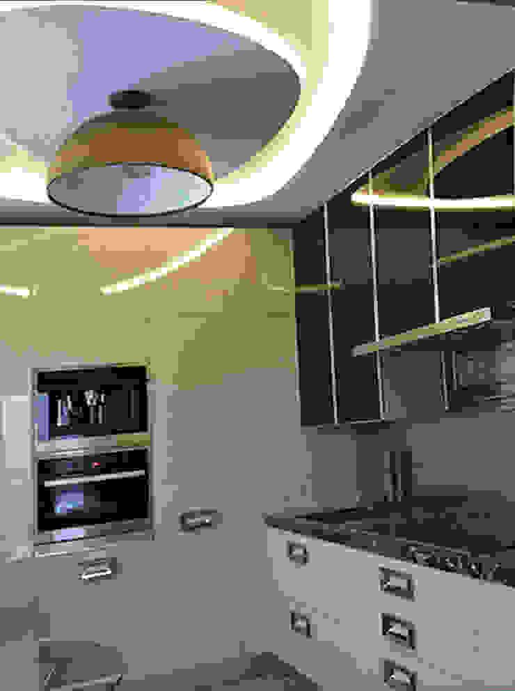 Кухня:  в современный. Автор – KrasnovaDesign, Модерн