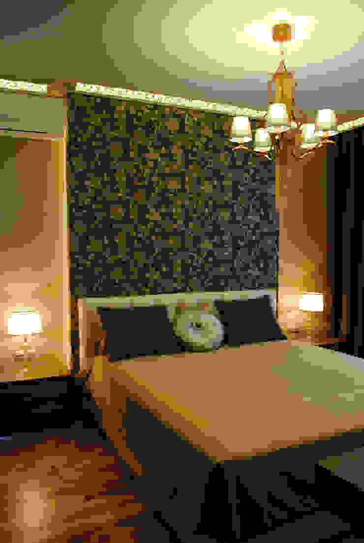 Спальня:  в современный. Автор – KrasnovaDesign, Модерн