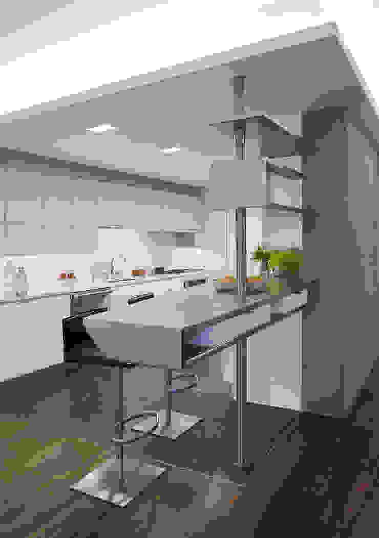 Kitchen Modern kitchen by Eisner Design Modern
