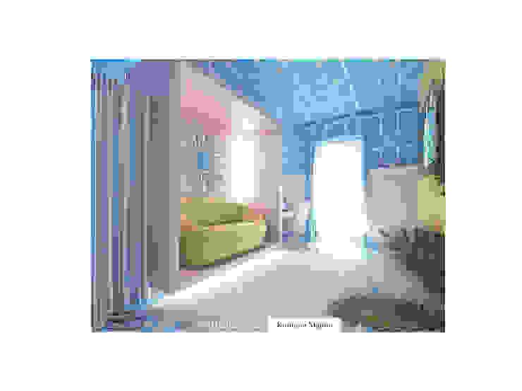 Лавандово-лазурный прованс с парижским акцентом Детская комнатa в стиле кантри от FEDOROVICH Interior Кантри