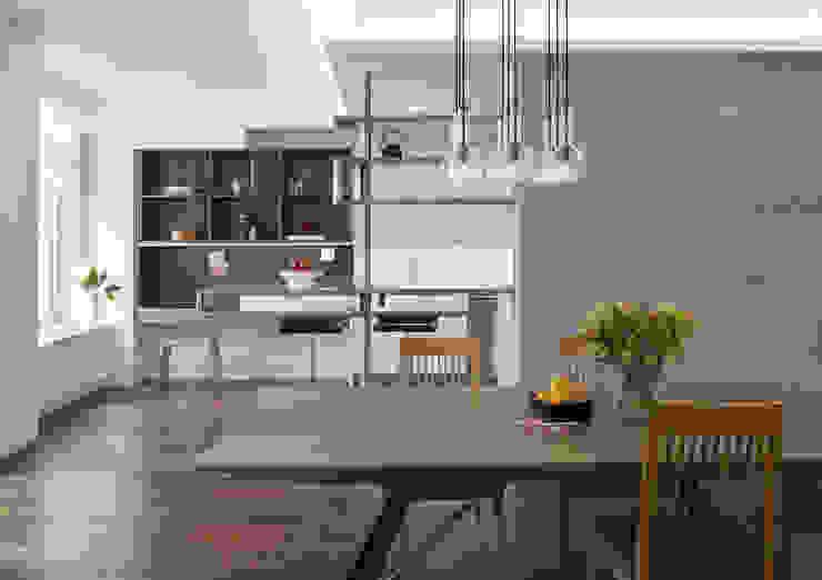 Dining area Modern Dining Room by Eisner Design Modern