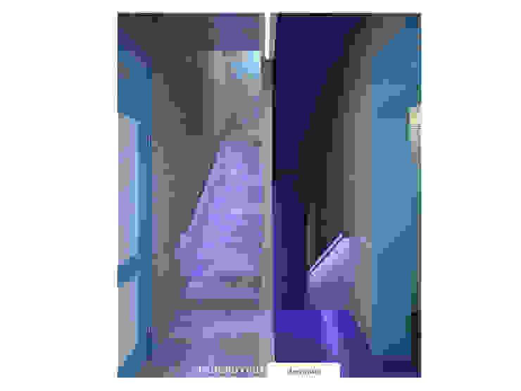 Лавандово-лазурный прованс с парижским акцентом Коридор, прихожая и лестница в стиле минимализм от FEDOROVICH Interior Минимализм