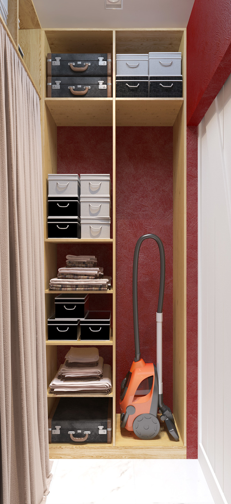 Eclectic style dressing rooms by Katerina Butenko Eclectic