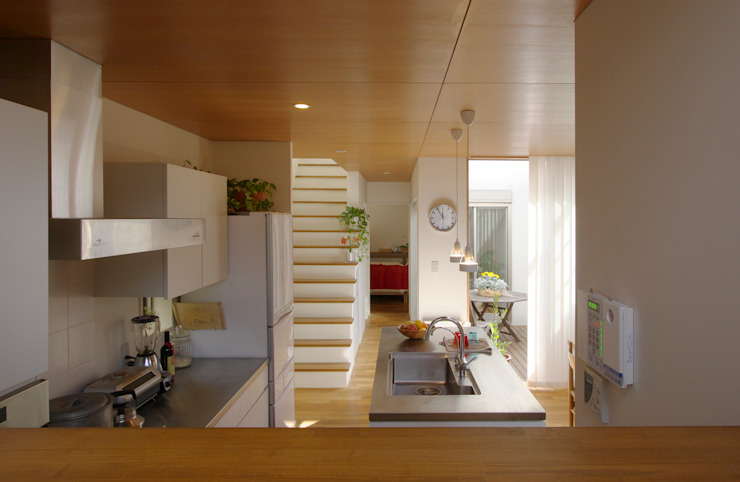 市川の家 北欧デザインの キッチン の 長浜信幸建築設計事務所 北欧