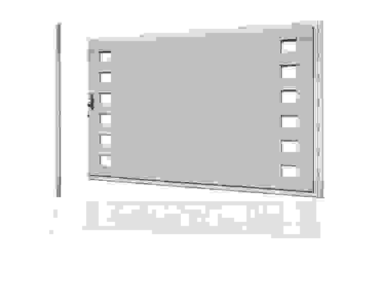 Puerta de garaje Batiente Pixéling® de Puerta Bonita Moderno
