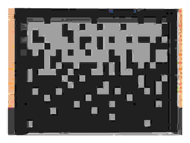Puerta de garaje Seccional Pixéling® de Puerta Bonita Moderno