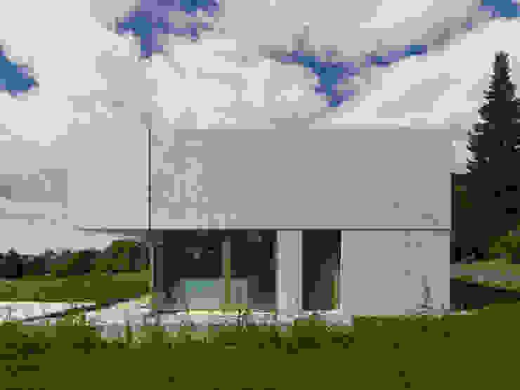 Minimalistische huizen van ern+ heinzl Architekten Minimalistisch