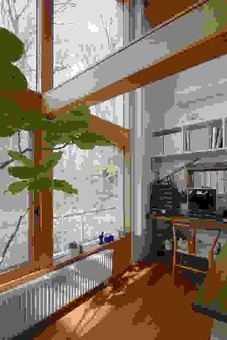 市川の家 北欧デザインの 書斎 の 長浜信幸建築設計事務所 北欧