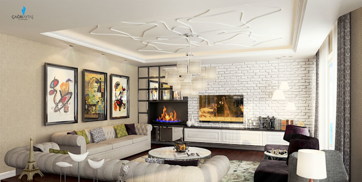 Classic style living room by Çağrı Aytaş İç Mimarlık İnşaat Classic