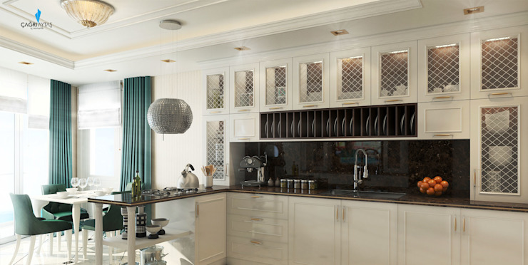 Klassieke keukens van Çağrı Aytaş İç Mimarlık İnşaat Klassiek