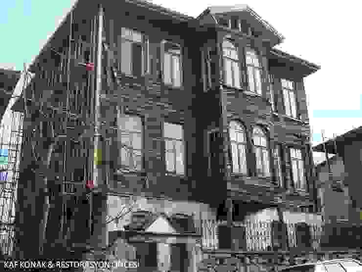 BARTIN KAF KONAK - RESTORASYON ÖNCESİ ÖN CEPHE Klasik Oteller BOYTORUN ARCHITECTS Klasik
