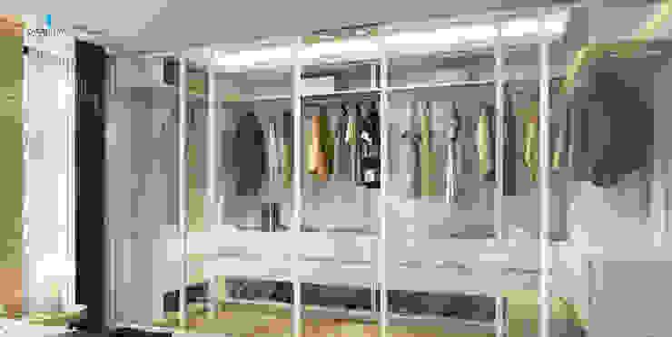 DE LIFE HOMES Modern Giyinme Odası Çağrı Aytaş İç Mimarlık İnşaat Modern
