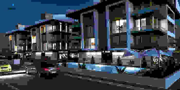 DE LIFE HOMES Modern Evler Çağrı Aytaş İç Mimarlık İnşaat Modern