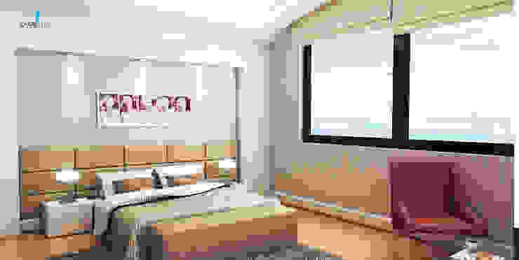 HANEDAN KONUTLARI Modern Yatak Odası Çağrı Aytaş İç Mimarlık İnşaat Modern