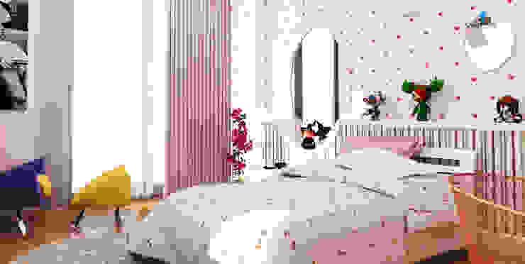 HANEDAN KONUTLARI Modern Çocuk Odası Çağrı Aytaş İç Mimarlık İnşaat Modern
