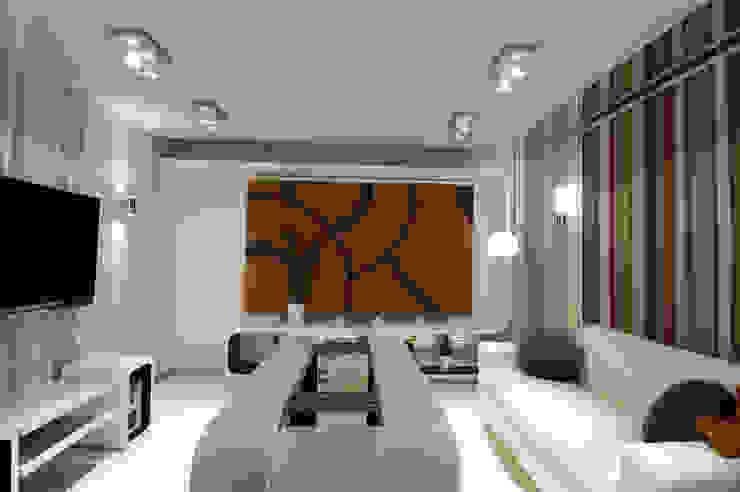Универсальная гостиная от Мастерская Интерьеров Варвары Зеленецкой