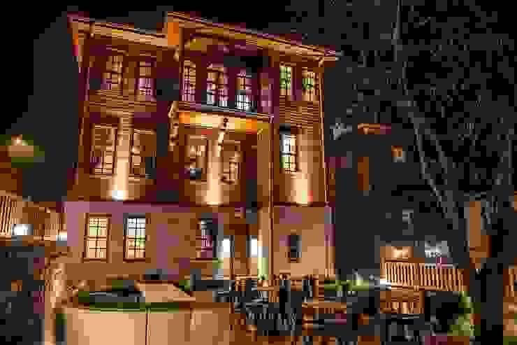 BARTIN KAF KONAK - ARKA CEPHE & BAHÇE Klasik Oteller BOYTORUN ARCHITECTS Klasik