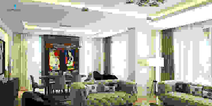 Salones de estilo  de Çağrı Aytaş İç Mimarlık İnşaat