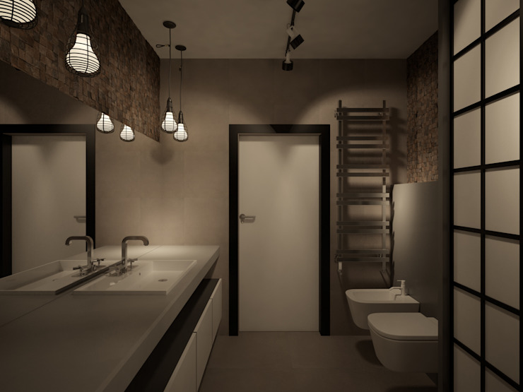 Room Краснодар Industrial style bathroom