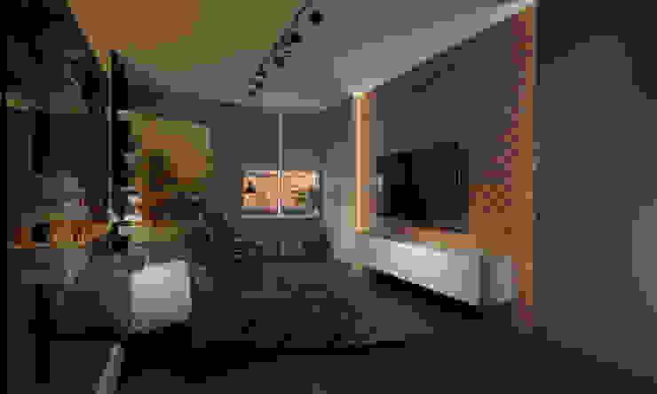 Room Краснодар Industrial style bedroom