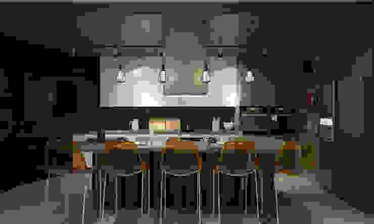 Room Краснодар Industrial style kitchen