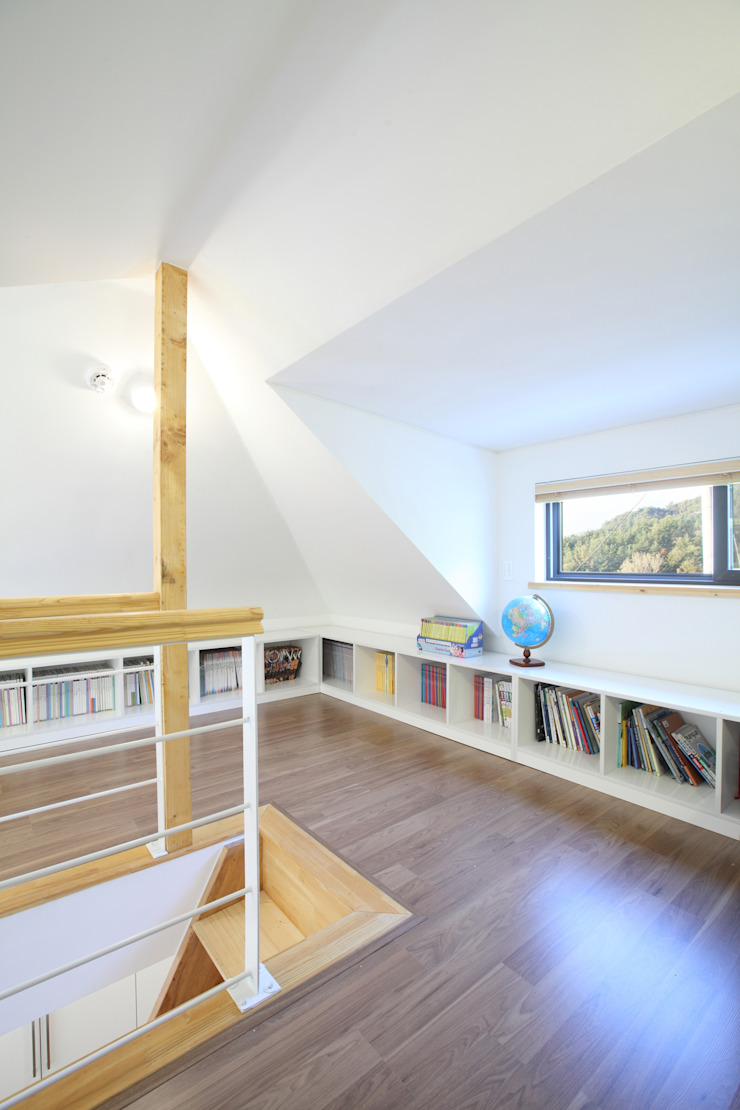 Kamar Tidur Modern Oleh 주택설계전문 디자인그룹 홈스타일토토 Modern