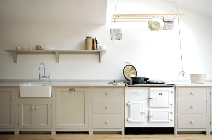 The Kew Shaker Kitchen by deVOL deVOL Kitchens Cocinas de estilo escandinavo