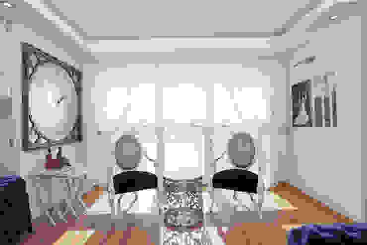 Mimoza Mimarlık – Phaselis Konutları Antalya:  tarz Oturma Odası,