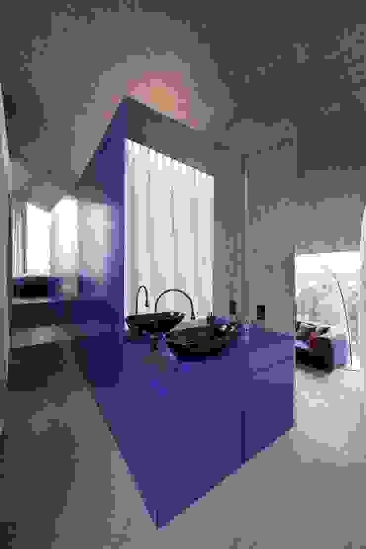Modern living room by L3P Architekten ETH FH SIA AG Modern