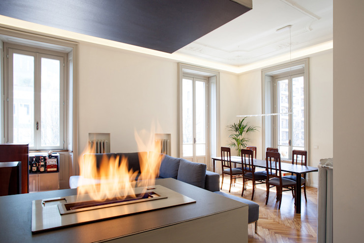 Modern dining room by bdastudio Modern