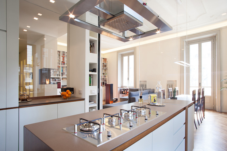Minimalist kitchen by bdastudio Minimalist