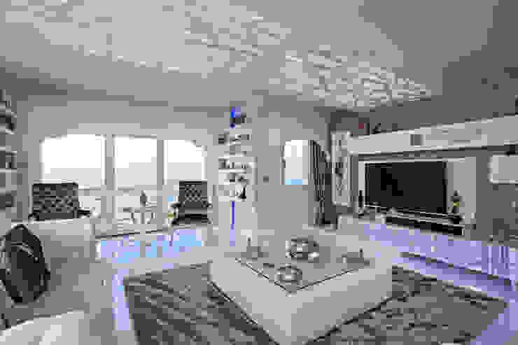 Living room by Mimoza Mimarlık, Modern