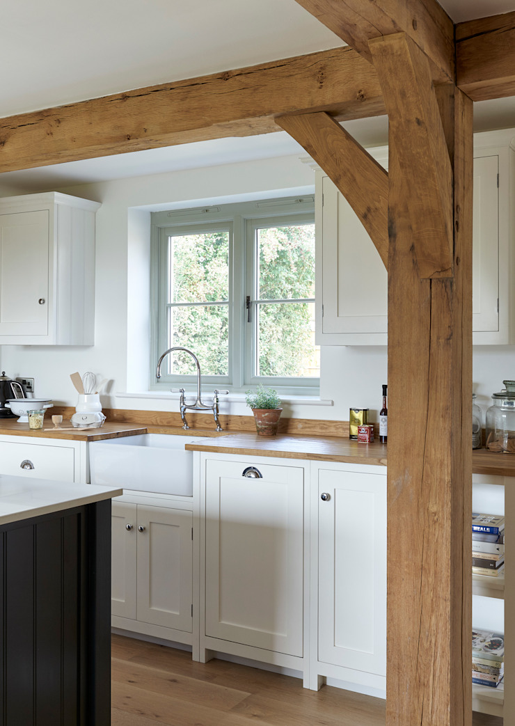 The Herefordshire Cottage Shaker Kitchen by deVOL Kırsal Mutfak deVOL Kitchens Kırsal/Country