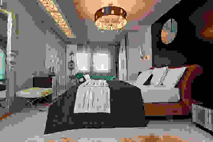 Modern style bedroom by Mimoza Mimarlık Modern