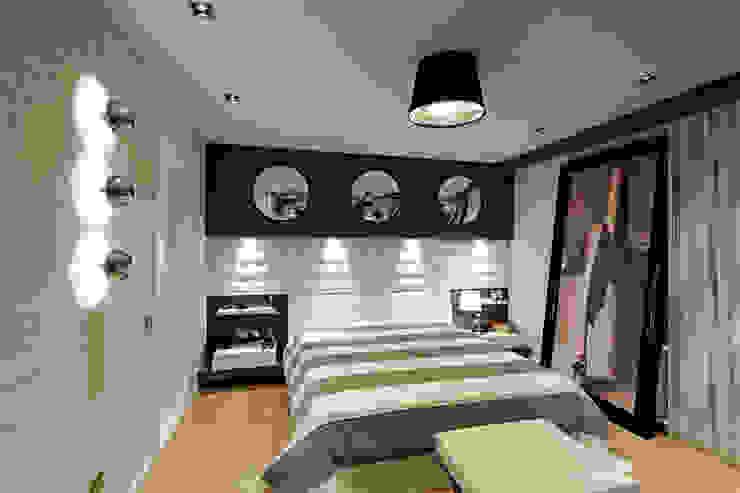 Dormitorios de estilo moderno de Mimoza Mimarlık Moderno