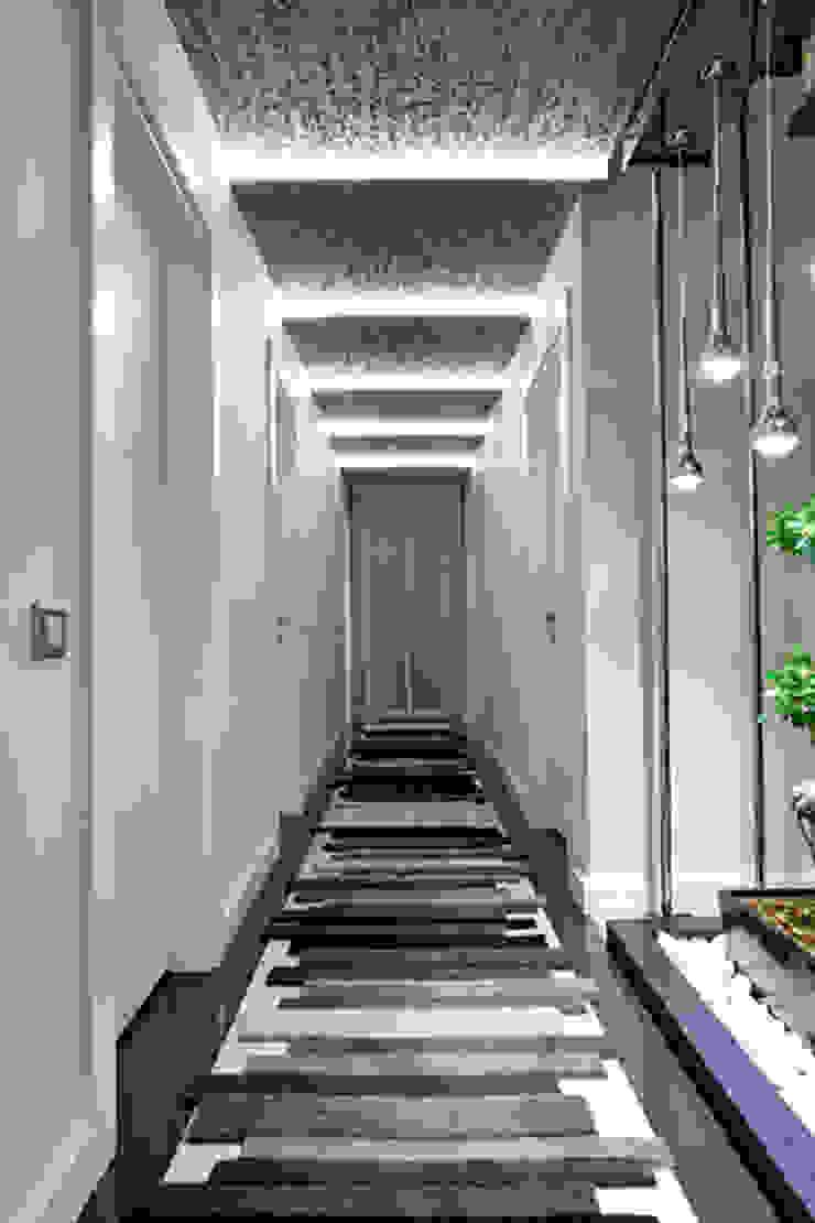 A. MORİTA EVİ ANTALYA Modern Koridor, Hol & Merdivenler Mimoza Mimarlık Modern
