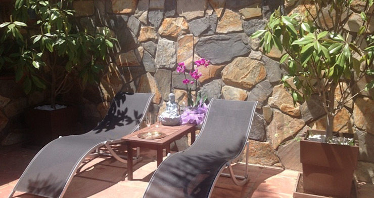 Solarium Feng Shui Jardines de estilo asiático de Feng Shui Cristina Jové Asiático