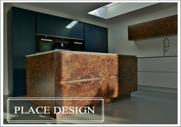 Contemporary in Balham Minimalist kitchen by Place Design Kitchens and Interiors Minimalist