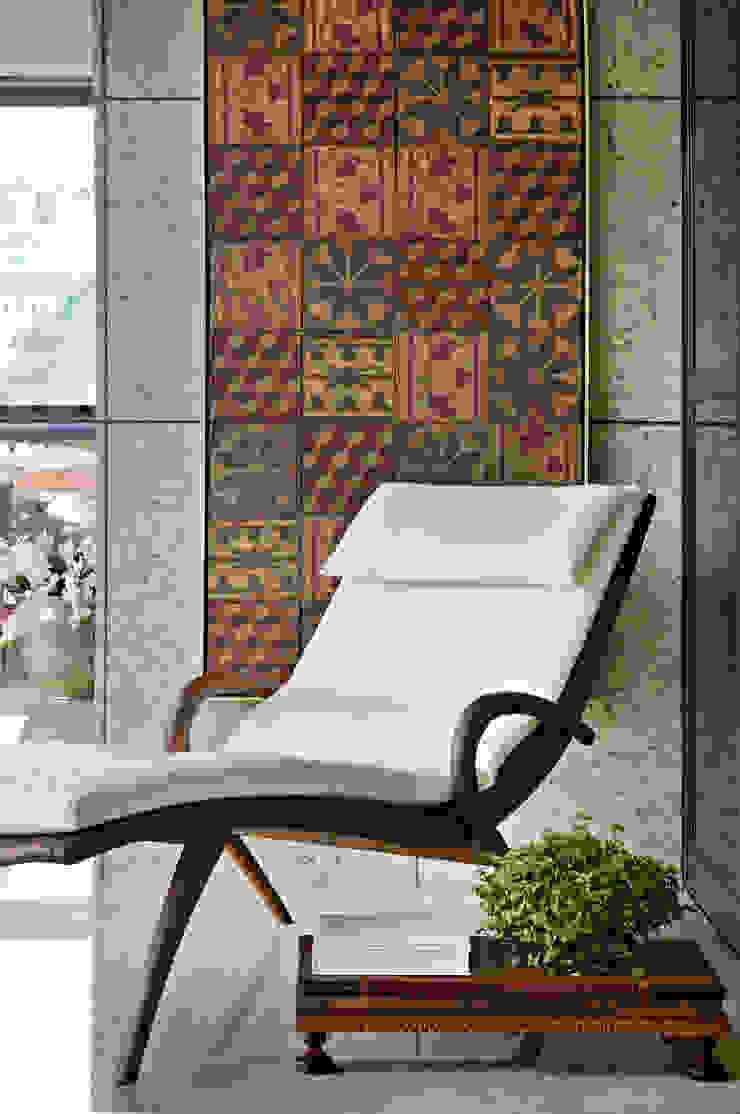 APARTAMENTO BELVEDERE Varandas, alpendres e terraços modernos por João Carlos Moreira Filho & Maria Thereza Terence Moderno
