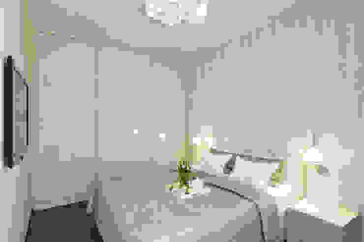 Minimalist bedroom by Творческая мастерская дизайна интерьера Анны Першаковой Minimalist